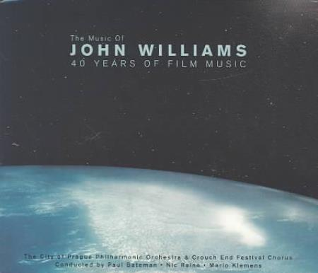 City of Prague Philharmonic Orchestra - The Music of John Williams: 40 Years of Film Music CD Boxset Cover Art