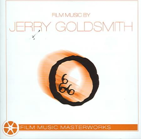 City of Prague Philharmonic Orchestra - Film Music by Jerry Goldsmith CD Cover Art