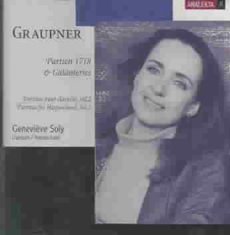 Graupner: Partitas for Harpsichord, Vol. 2 CD Cover Art