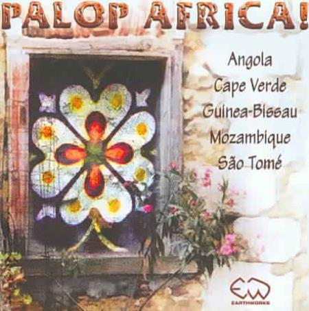 PALOP Africa! CD Cover Art