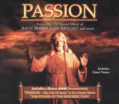 Various Artists - Passion: The Life of Jesus DVD Boxset Cover Art