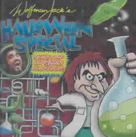 Various Artists - Wolfman Jack's Halloween Special: Scary Sounds CD Cover Art