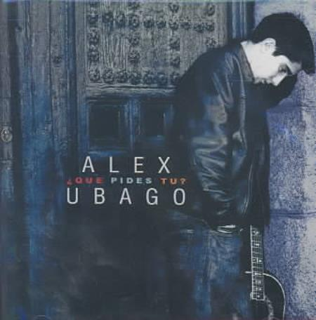 Alex Ubago - Que pides tu? CD Cover Art