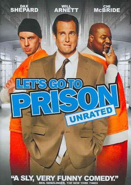 Let's Go to Prison DVD Cover Art