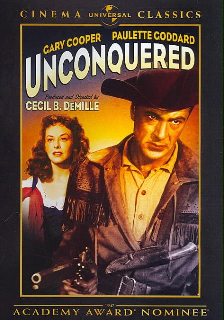 Unconquered DVD Cover Art