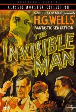 The Invisible Man DVD Cover Art