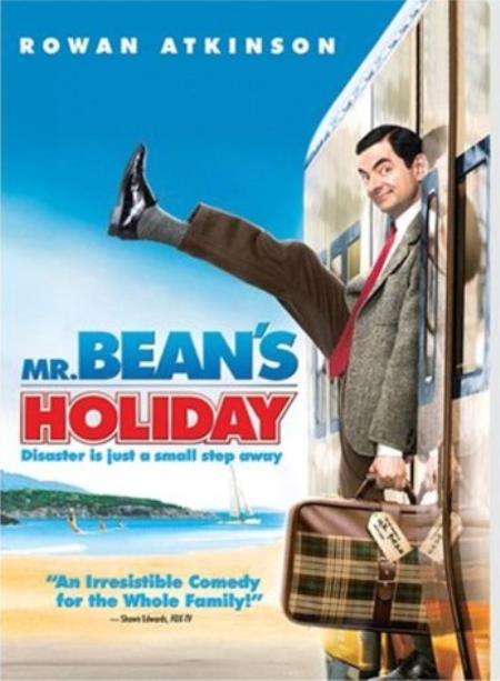Mr. Bean's Holiday DVD Cover Art