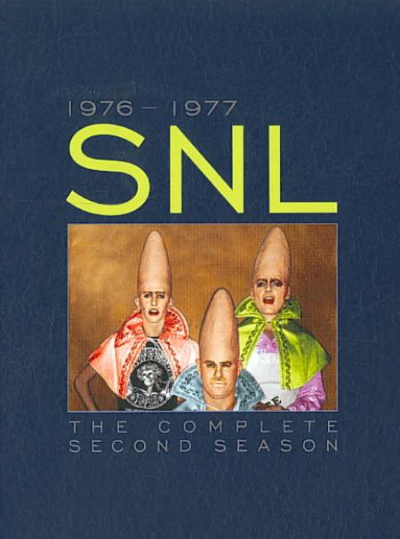 Saturday Night Live - The Complete Second Season DVD Boxset Cover Art