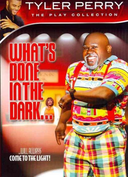 Tyler Perry's What's Done in the Dark DVD Cover Art
