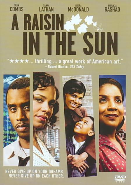 A Raisin in the Sun DVD Cover Art