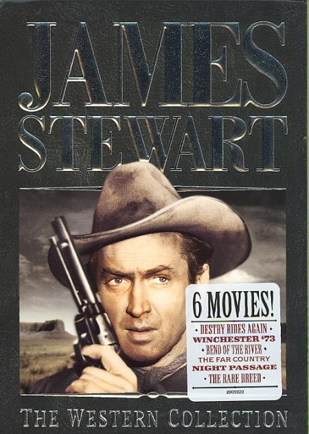 James Stewart: The Western Collection DVD Boxset Cover Art