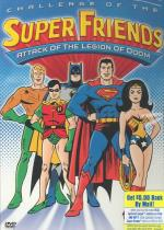 Challenge of the SuperFriends - Attack of the Legion of Doom DVD Cover Art