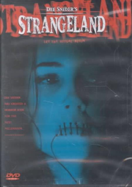 Strangeland DVD Cover Art