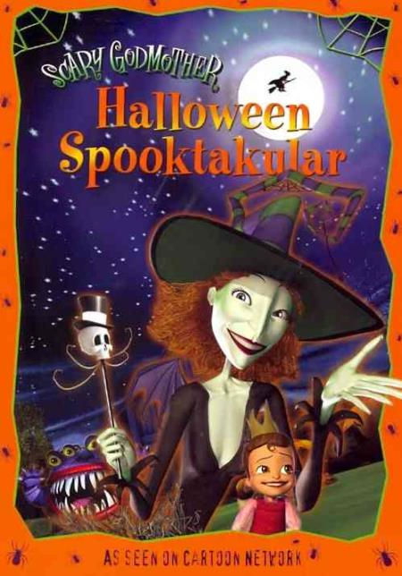 Scary Godmother Halloween Spooktakular DVD Cover Art