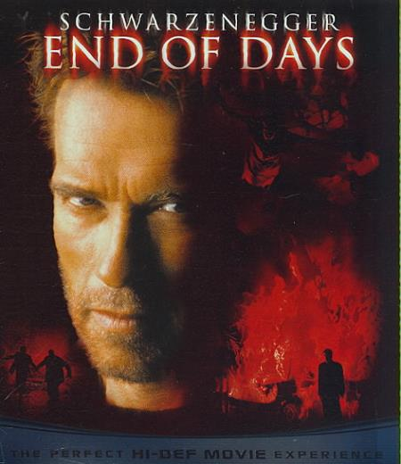 End of Days Blu-ray Cover Art