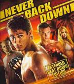 Never Back Down Blu-ray Cover Art