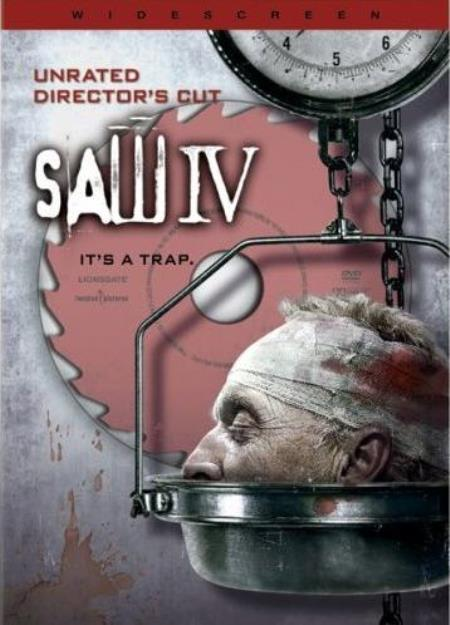 Saw IV DVD Cover Art
