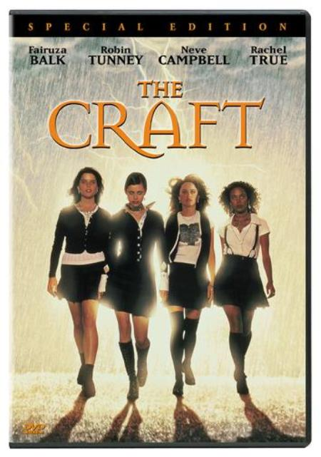 The Craft DVD Cover Art