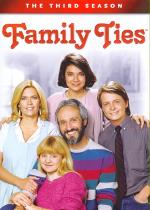 Family Ties - The Complete Third Season DVD Boxset Cover Art