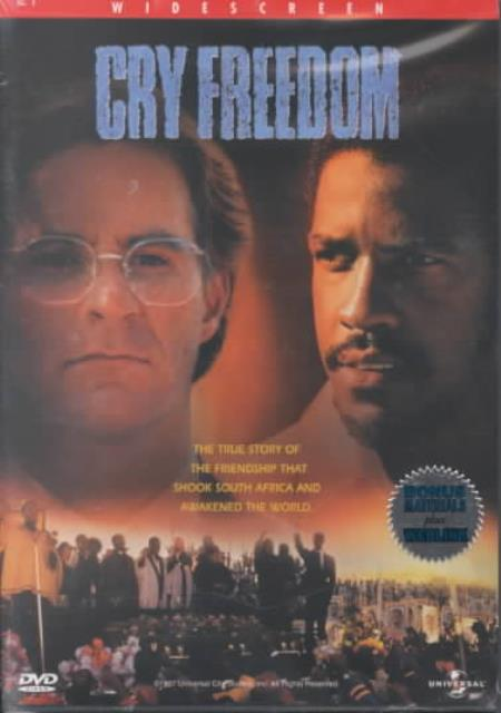 Cry Freedom DVD Cover Art
