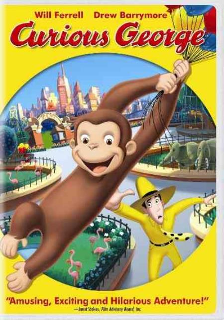 Curious George DVD Cover Art