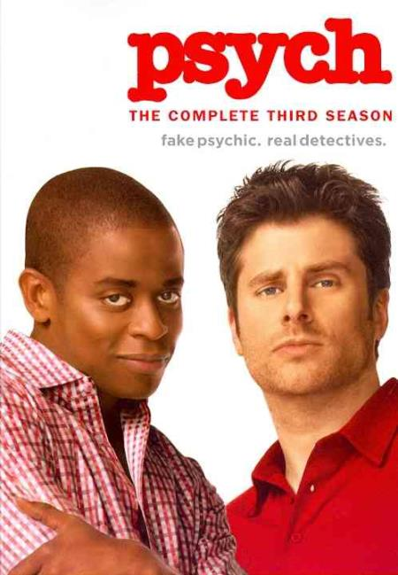 Psych - The Complete Third Season DVD Boxset Cover Art
