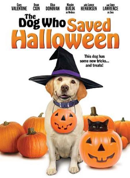 The Dog Who Saved Halloween DVD Cover Art