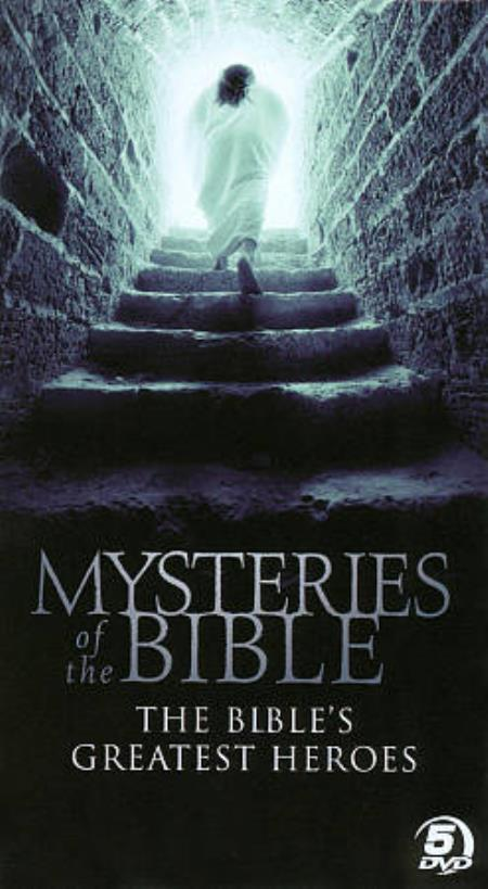 Mysteries of the Bible - The Bible's Greatest Heroes DVD Boxset Cover Art