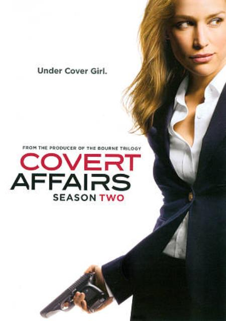 Covert Affairs: Season Two DVD Boxset Cover Art