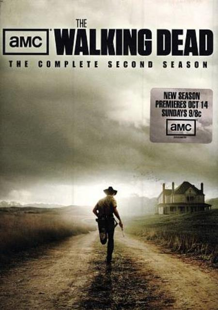 The Walking Dead: The Complete Second Season DVD Boxset Cover Art