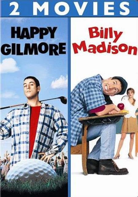 Happy Gilmore/Billy Madison DVD Cover Art