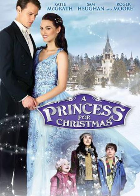 A Princess for Christmas DVD Cover Art