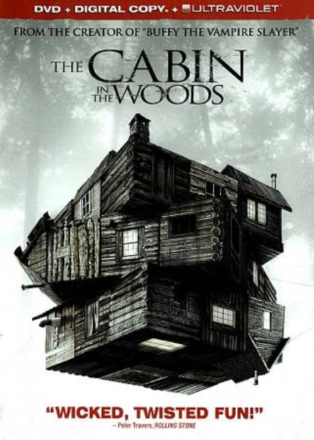 The Cabin in the Woods DVD Cover Art