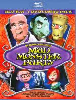 Mad Monster Party Blu-ray/DVD Cover Art