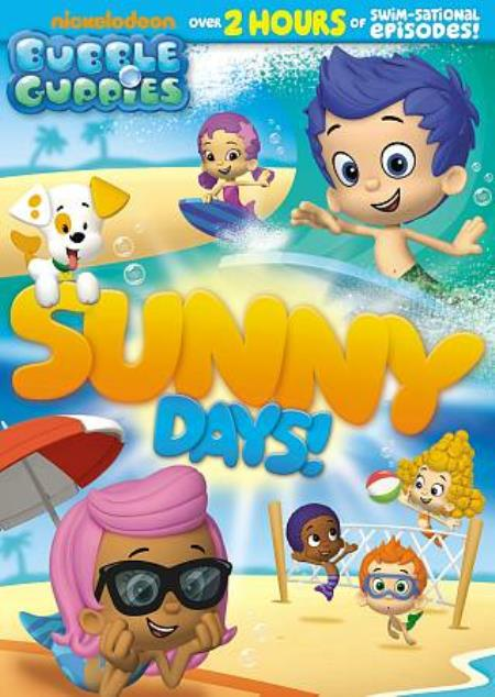Bubble Guppies: Sunny Days! DVD Cover Art