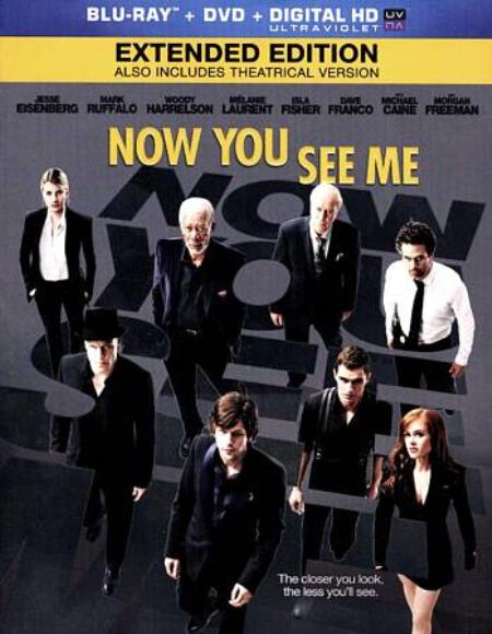 Now You See Me Blu-ray/DVD Cover Art