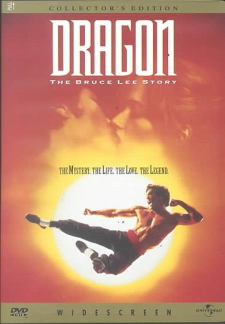 Dragon: The Bruce Lee Story DVD Cover Art
