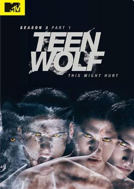 Teen Wolf: Season 3, Part 1 DVD Boxset Cover Art