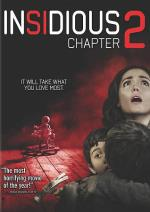 Insidious Chapter 2 DVD Cover Art