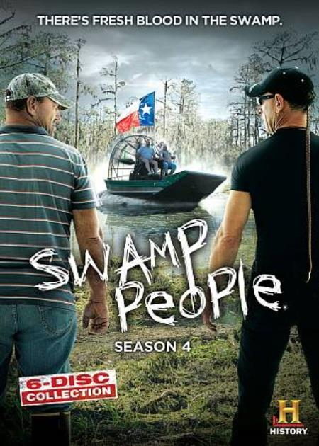 Swamp People: Season Four DVD Cover Art