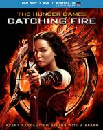 The Hunger Games: Catching Fire Blu-ray Cover Art