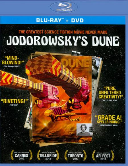 Jodorowsky's Dune Blu-ray/DVD Cover Art