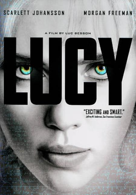 Lucy DVD Cover Art