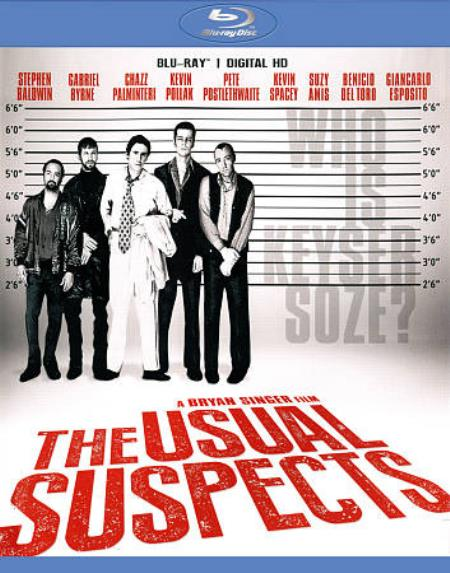 The Usual Suspects Blu-ray Cover Art