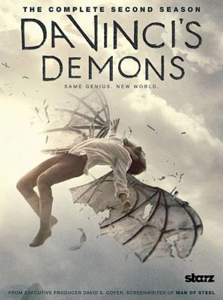 Da Vinci's Demons: The Complete Second Season DVD Boxset Cover Art