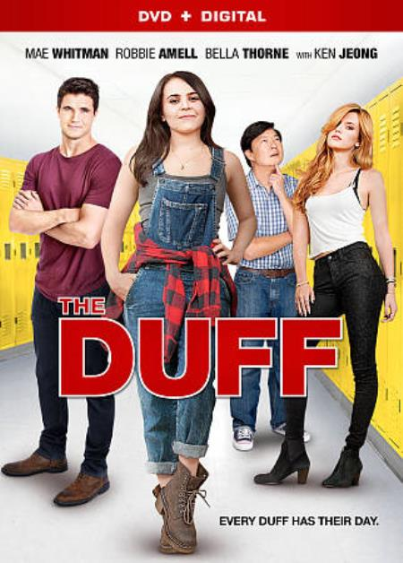 The DUFF DVD Cover Art