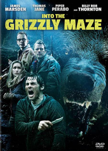 Into the Grizzly Maze DVD Cover Art