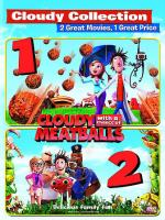 Cloudy with a Chance of Meatballs/Cloudy with a Chance of Meatballs 2 DVD Cover Art