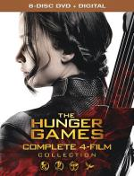 The Hunger Games Collection DVD Cover Art