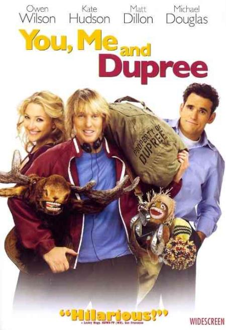 You, Me and Dupree DVD Cover Art